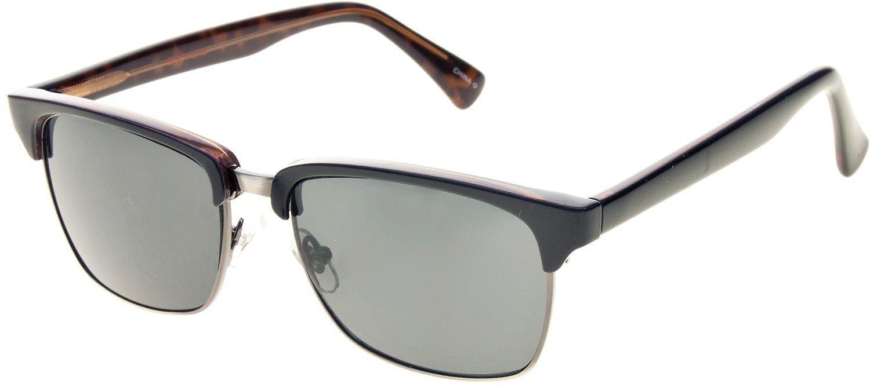 Rimless Clubmaster Glasses : Dockers Mens Semi-Rimless Clubmaster Sunglasses Bealls ...