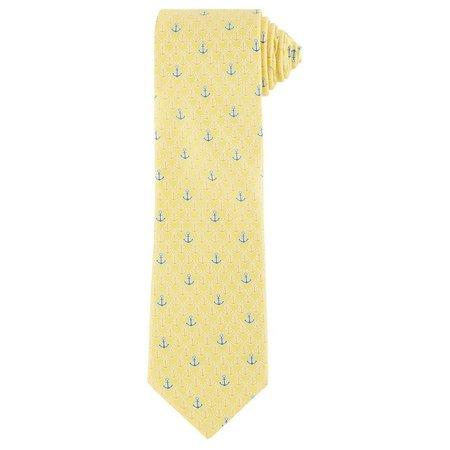 Boca Classics Anchor Yellow Tie