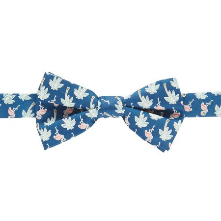 Boca Classics Flamingo Palm Bow Tie