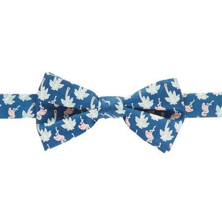 Boca Classics Flamingo Palm Bow Tie