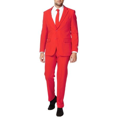 Opposuits Mens Red Devil 3-pc. Suit