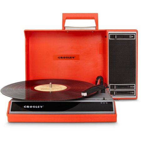 Crosley Radio Spinnerette Portable USB Turntable