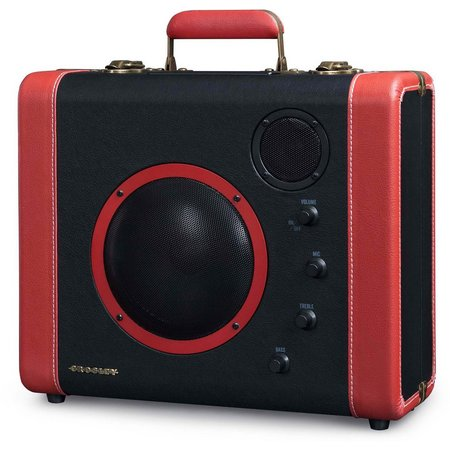 Crosley Radio Black Soundbomb Portable Speaker