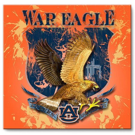 Auburn 12'' x 12'' Wall Art by Guy