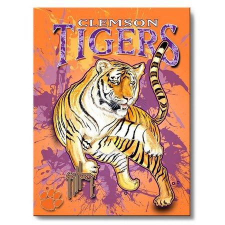 Clemson Tigers 18'' x 24'' Wall Art by
