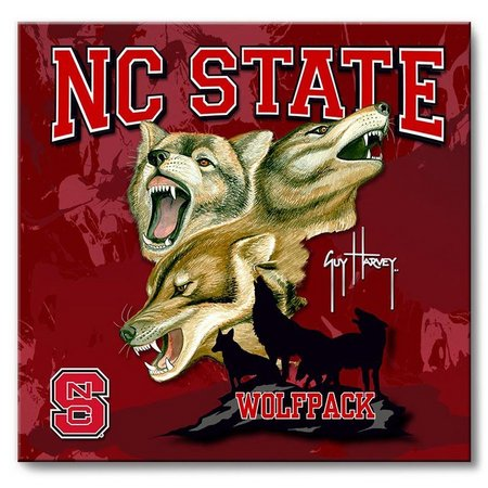 NC State 12'' x 12'' Wall Art by