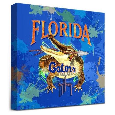 Florida Gators 12'' x 12'' Wall Art by