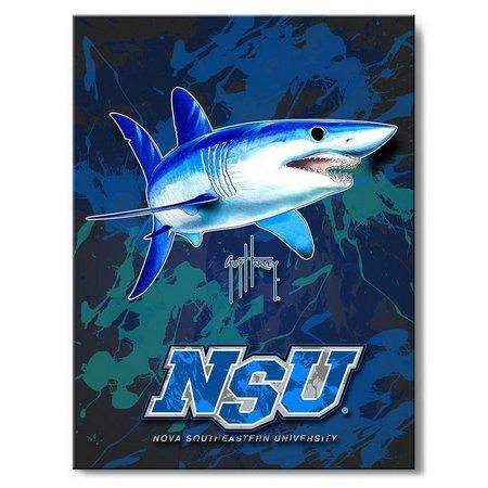 Nova Sharks 18'' x 24'' Wall Art by