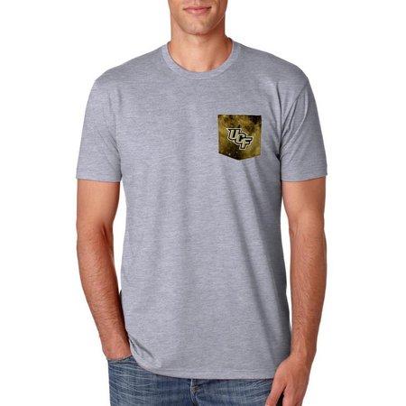 UCF Knights Mens Galaxy Pocket T-Shirt