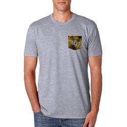 New! UCF Knights Mens Galaxy Pocket T-Shirt