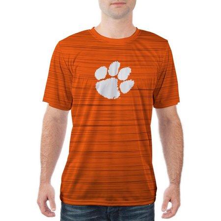 Clemson Tigers Mens Short Sleeve Kinetic Shirt