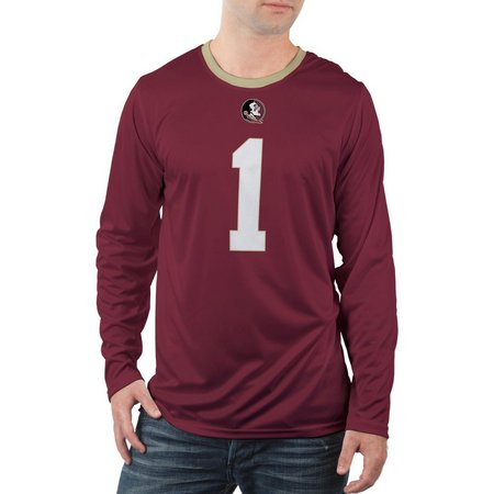 Florida State Mens Long Sleeve Jersey Shirt