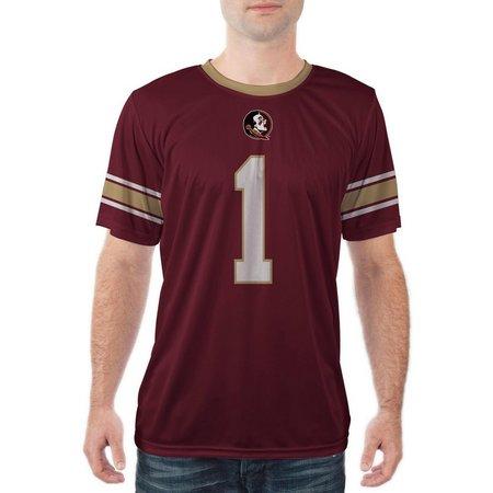 Florida State Mens Short Sleeve Jersey Shirt
