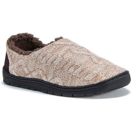 Muk Luks Mens John Sweater Slippers