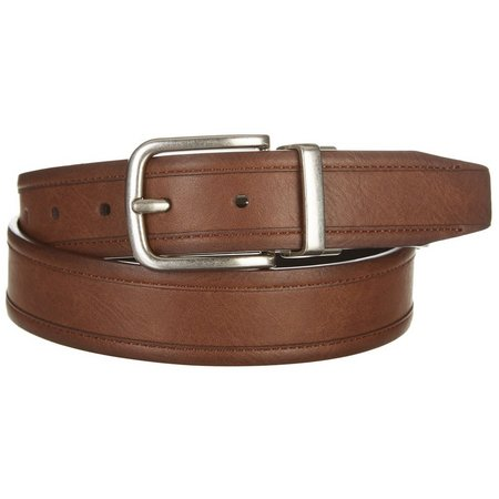 Boca Classics Mens Brown & Black Reversible Belt