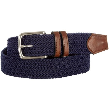 New! Boca Classics Braided Stretch Fabric Belt
