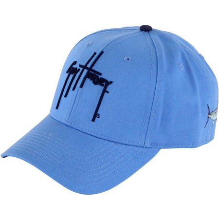 Guy Harvey Mens Blue Team Hat