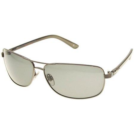 Dockers Mens Polarized Aviator Sunglasses