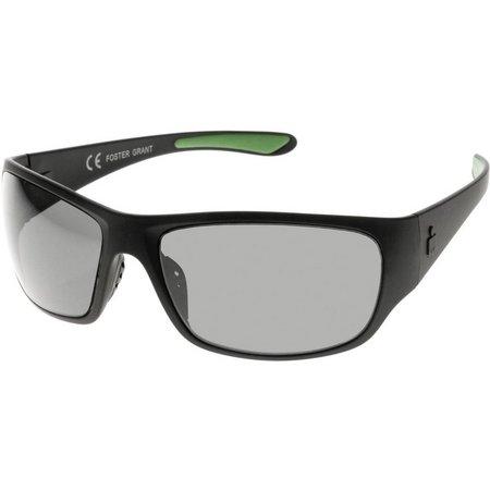 Iron Man Mens Ironflex Wrap Sunglasses