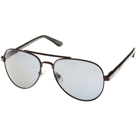 Dockers Mens Bronze Aviator Sunglasses