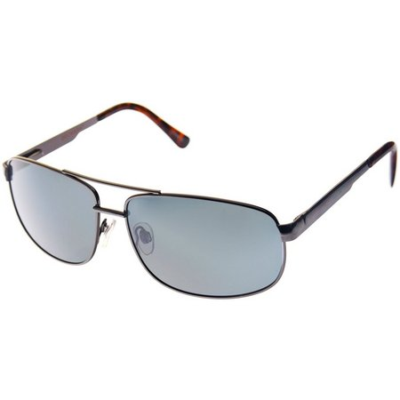 Dockers Mens Gunmetal Tortoise Sunglasses