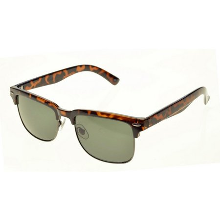 Dockers Mens Tortoise Smoke Polarized Sunglasses