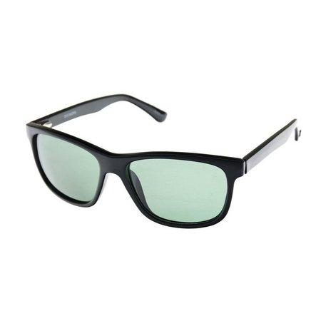 Dockers Mens Black Wrap Sunglasses