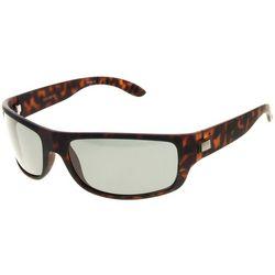 Dockers Men Rubberized Tortoiseshell Sunglasses