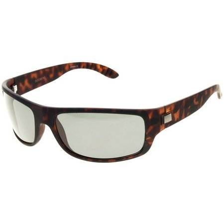 Dockers Men Rubberized Tortoiseshell Sunglasses