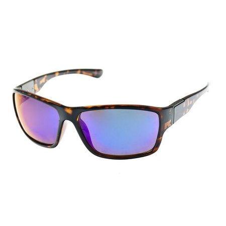 Dockers Mens Tortoiseshell Wrap Sunglasses