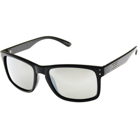 Dockers Mens Polorized Black Keyhole Sunglasses
