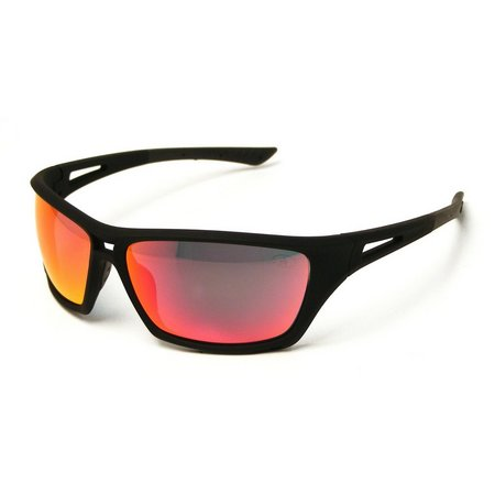 Iron Man Mens Red Mirrored Performance Sunglasses