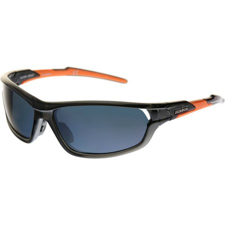 Iron Man Mens Smoke Sport Wrap Sunglasses
