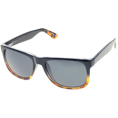 Dockers Mens Ombre Retro Rectangle Sunglasses