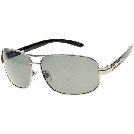 Dockers Mens Metal Navigator Sunglasses