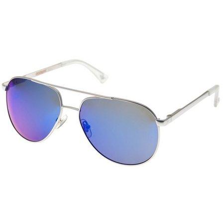 Dockers Mens Blue Aviator Sunglasses