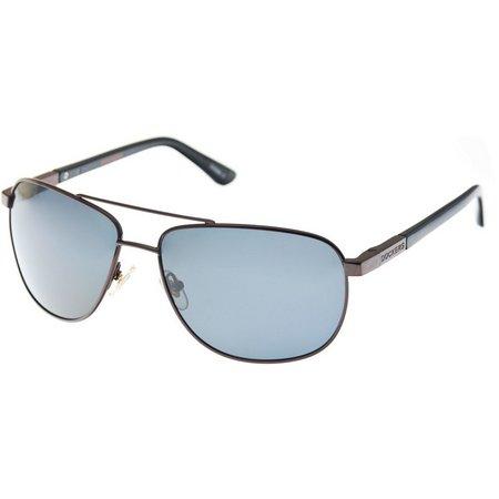 Dockers Mens Metal Frame Pilot Sunglasses