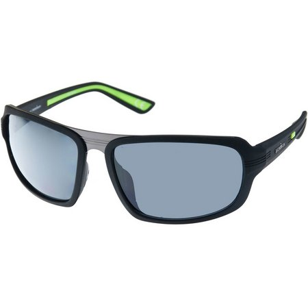Iron Man Mens Tinted Ironflex Wrap Sunglasses