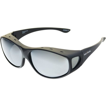 c8fe113df9 Solar Shield Mens Sport Tapered Rectangle Sunglasses