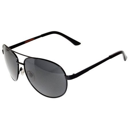 Dockers Mens Metal Aviator Sunglasses