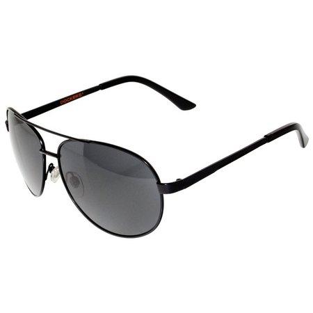 Dockers Mens Metal Aviator Sunglasses