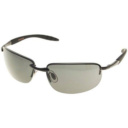 Dockers Mens Semi Rimless Sunglasses