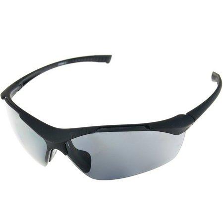Riviera Mens Black Blade Sunglasses