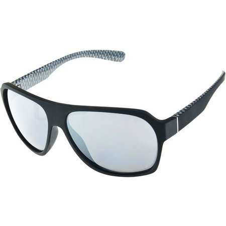 Riviera Mens Black Sunglasses