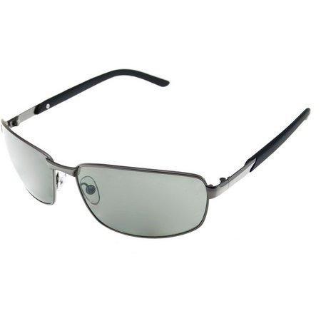 Riviera Mens Gunmetal Sunglasses