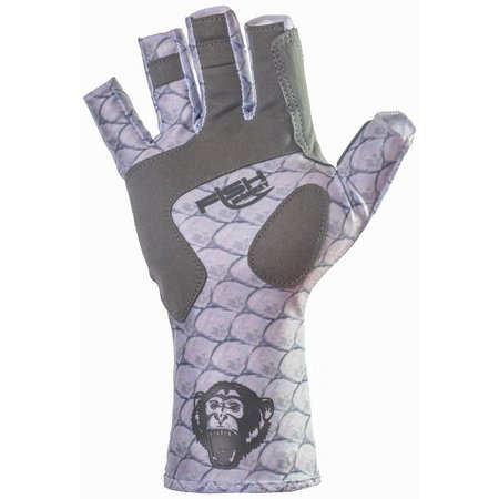 Fish Monkey Mens Tarpon Half Finger Guide Gloves