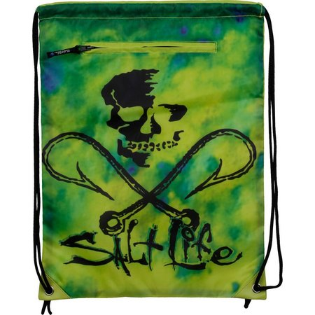 Salt Life Hooked Skull Cinch Backpack