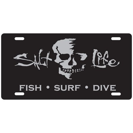 Salt Life At Ease License Plate