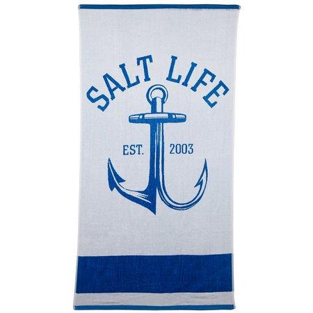 Salt Life Anchor Gaff Beach Towel