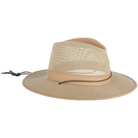 Khaki Aussie Breezer Mesh Hat
